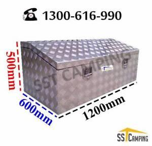 L1200*W600*H500 Heavy Dute Top Open Aluminium Toolbox Melbourne CBD Melbourne City Preview