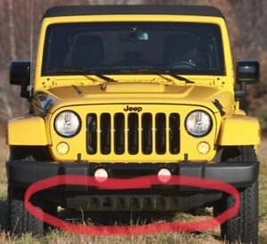 JEEP WRANGLER JK FRONT BUMPER LOWER AIR DAM SKID PLATE