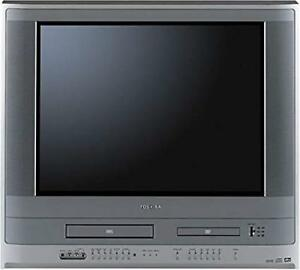 "21"" TOSHIBA DVD/VHS COMBO TV WITH 70+ VHS - $80 (BUNDLE ONLY)"