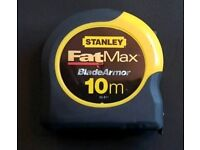 Stanley 10m Fatmax Blade Armor Measuring Tape
