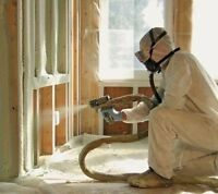 SPRAY FOAM and CELLULOSE INSULATION