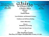 Shine Personal Development Group, Thursdays from 22 September, 7 - 9pm