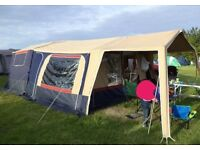 TRIGANO TRAILER TENT with full awning and all accessories
