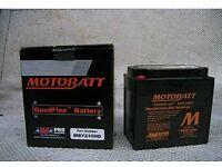 Brand New Motorcycle AGM Gel Battery Motobatt MYZ16 Heavy Duty Ytx14 Ctx14 Kmx14 Gyz16