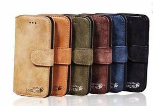 Leather Genuine Stand Case Cover Flip Wallet Samsung iPhone Varsity Lakes Gold Coast South Preview