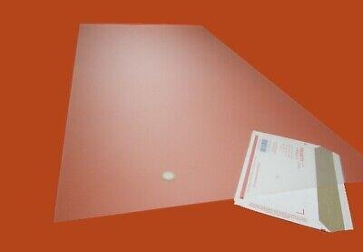 Polycarbonate Sheets 1 Side Matte Translucent Hazy .010 X 24 X 48 2 Units