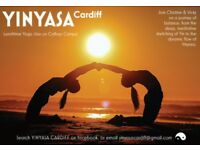 YINYASA lunchtime yoga classes in Cathays