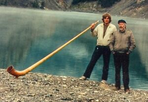 Alphorn of Historic Canadian Importance for sale