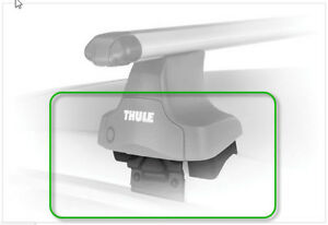 Thule Roof rack Transverse Fit Kit 1538 only $70