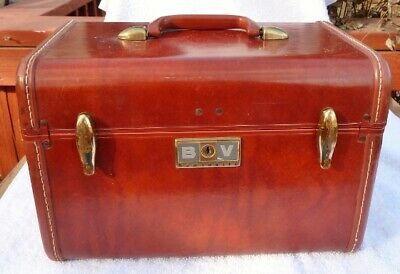 Vintage Samsonite 4912 Train Case Hard Travel Case  No Key