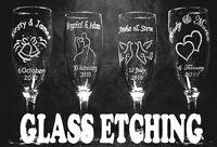 CUSTOM GLASS ETCHING