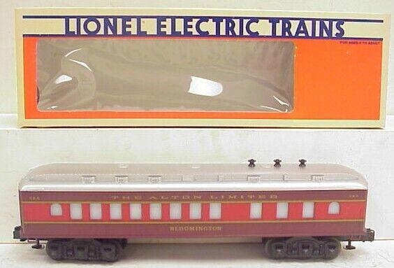 "Lionel 6-9599 O Gauge Chicago & Alton ""Bloomington"" Dining Car EX/Box"