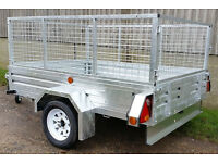 New Paxton 7' x 5' Caged Trailer