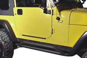 Crawler Rocker Side Guard Jeep Wrangler JK TJ Textured Black