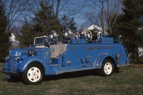 Walkersville MD 1940 Ford Howe Pumper - Fire Apparatus Slide