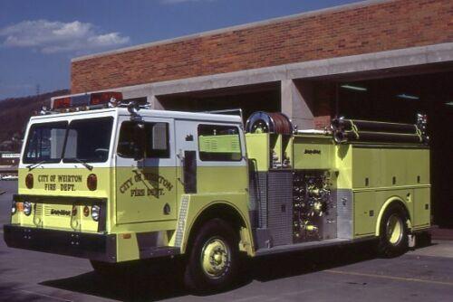 Weirton WV 1977 Hendrickson Carmar Pumper - Fire Apparatus Slide
