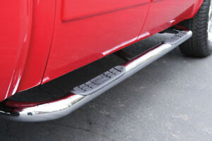 "Side Steps - 3"" Round - 04-08 F-150 - Crew Cab - Super Deal"