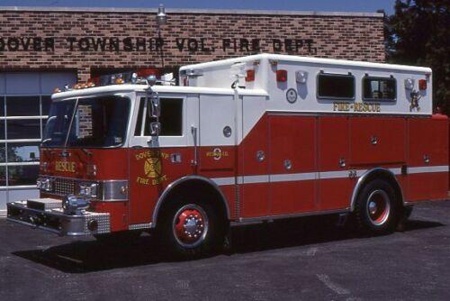 Dover PA Rescue 9 1986 Pierce Dash Rescue - Fire Apparatus Slide