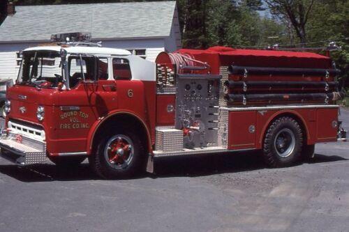 Round Top NY 1980 Ford C Grumman Pumper - Fire Apparatus Slide
