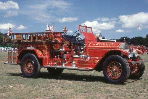 Canton MA Engine 1 1925 American LaFrance Pumper - Fire Apparatus Slide