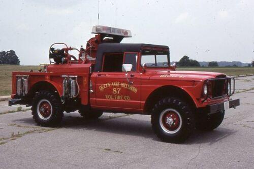 Hillsboro MD 1967 Jeep Brush Fire Unit - Fire Apparatus Slide