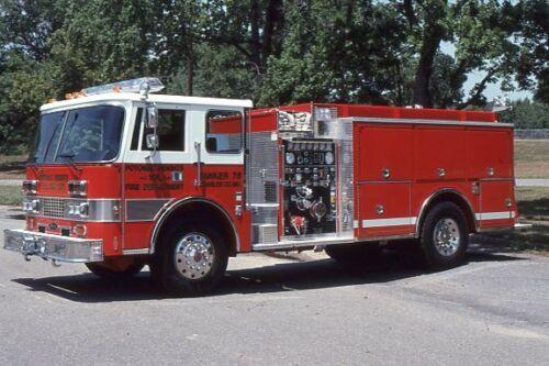Potomac Heights MD Tanker 76 1991 Pierce Dash - Fire Apparatus Slide