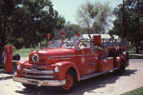 San Antonio TX 1953 Seagrave 65