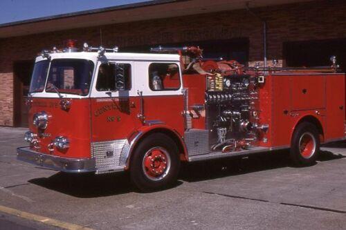 Centralia WA Engine 5 1976 Seagrave Pumper - Fire Apparatus Slide