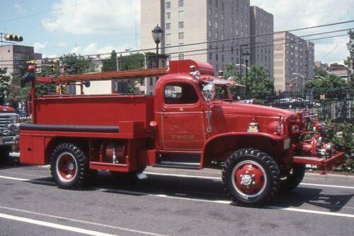 Chatham NJ 1944 Chevrolet Barton Brush Fire Unit - Fire Apparatus Slide