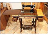 Working Manual Vintage SINGER Sewing Machine