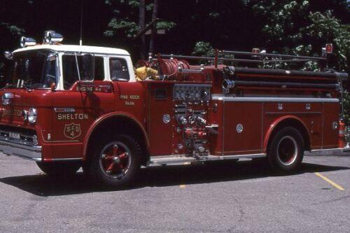 Shelton CT Engine 44 1970 Ford C Hahn Pumper - Fire Apparatus Slide
