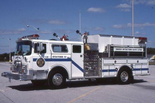 Carneys Point NJ Engine 11-1 1979 Mack CF S&S Pumper - Fire Apparatus Slide