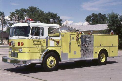 Billings MT 1968 Duplex Superior Pumper - Fire Apparatus Slide