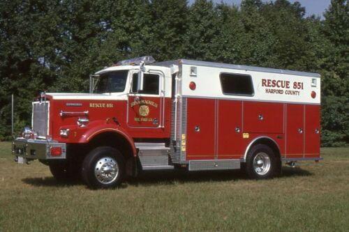 Joppa-Magnolia MD Rescue 851 1990 Kenworth Saulsbury - Fire Apparatus Slide