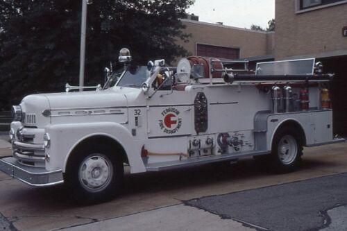 Ferguson MO 1958 Seagrave Pumper - Fire Apparatus Slide
