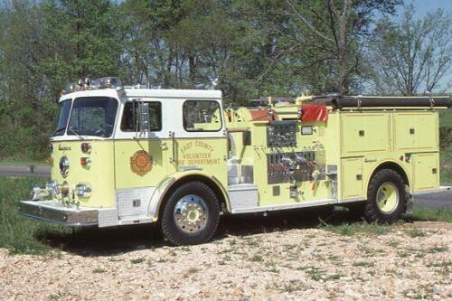 East Cape Girardeau MO 1970 Seagrave Pumper - Fire Apparatus Slide