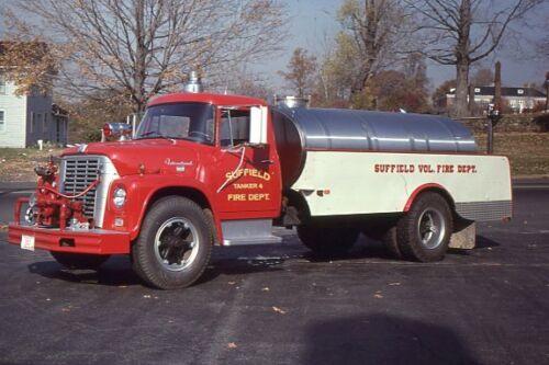 Suffield CT Tanker 4 1964 International Carmar Tanker - Fire Apparatus Slide