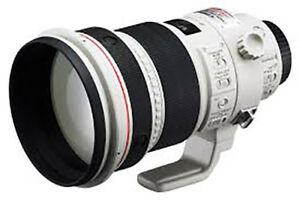 Canon 200mm f/2.0 IS USM Lens (prime)