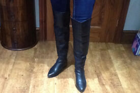 ladies size 5 knee high and ankle boots. River Island, Debenhams, Dorothy perkins As NEW