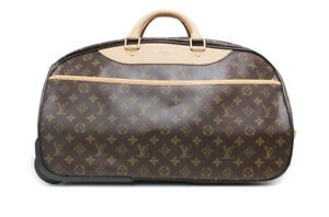 AuthenticLouis Vuitton Monogram Eole 50 Rolling Luggage.