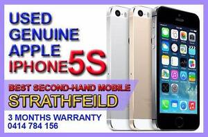 [FREE GIFT]IPHONE5S GOLD SILVER BLACK / 3 MONTHS WARRANTY Strathfield Strathfield Area Preview