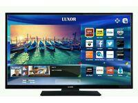 "Luxor 50"" LED smart tv builtin USB media player HD freeview fullhd ."