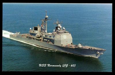 USS NORMANDY CG 60 Decal 3 X 9 U S Navy USN Military B01