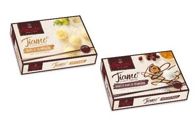 Sarotti - Marc de Champagne Truffles Chocolates white and dark - (2) two (Chocolate Champagne Truffles)