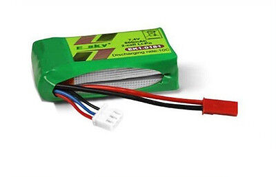 ESKY 000173:EK1-0181 Li-Polymer battery 7.4v for LAMA V3 LAMA V4 - Esky Lama V3 V4