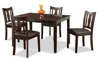 Solid Wood Dinette Sets Only $299 All Pcs