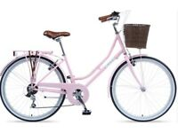 Viking shopper pink bike