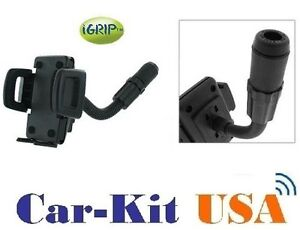 iGrip-Handsfree-phone-Holder-Dock-Cradle-KIT-w-car-Cigarette-Lighter-Mount