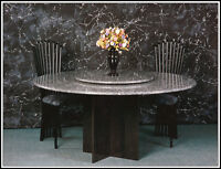 See RGS for a unique, luxurious granite dining table.