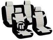 White Leather Seat Covers